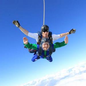 daksh skydive for BEN