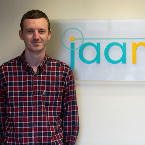 Jaama's first graduate training programme recruit