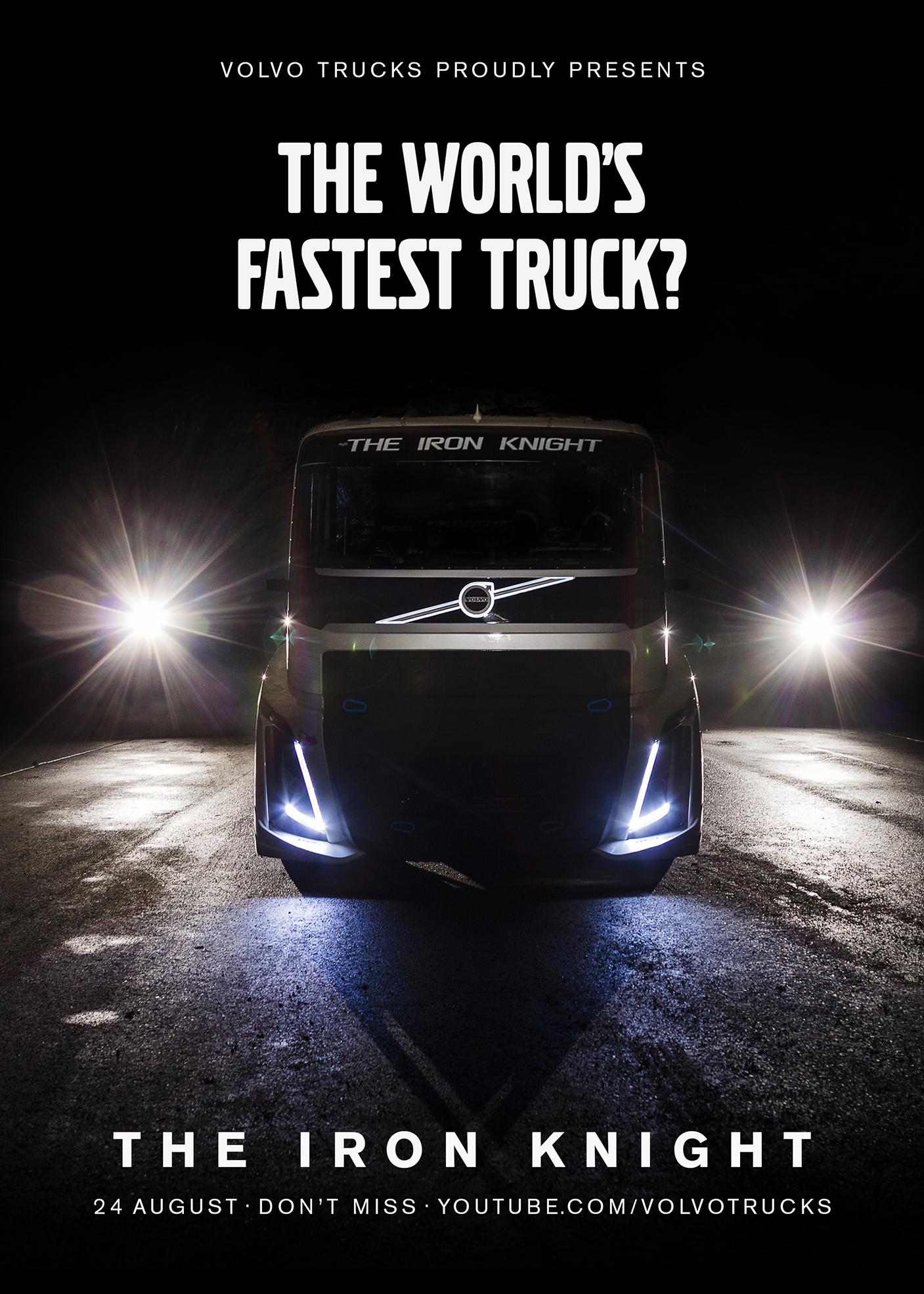 Volvo World's Fastest truck full