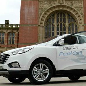 hydrogen fueled car
