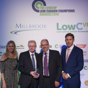 toyota lowCVP award