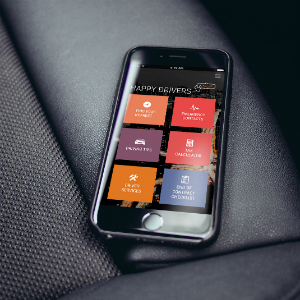 'Happy Drivers' app