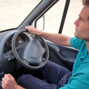 Van driver study image (TTT)
