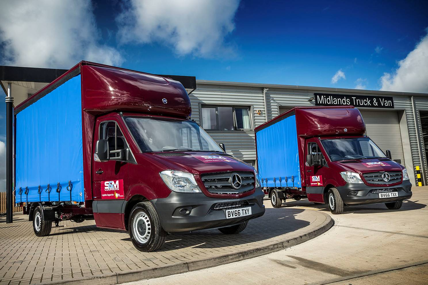 mercedes  midlands truck