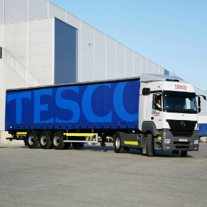 Tesco-Truck