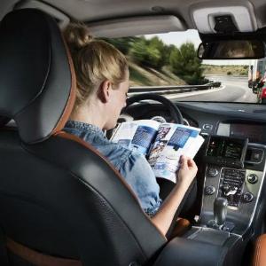 driverless volvo