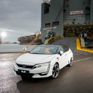 first honda clarity fuel cell