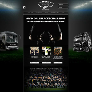 iveco and all blacks