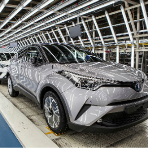 new toyota c-hr crossover