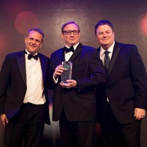 nissan wins website award