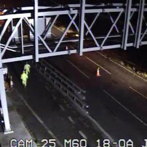 Roadworks intruder CCTV image 2