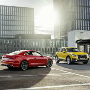 audi A5 and Q2