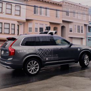 uber and volvo driverless