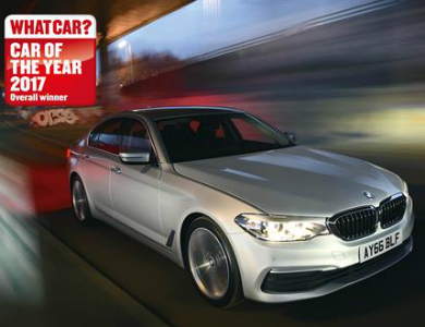 bmw 5 series car of the year