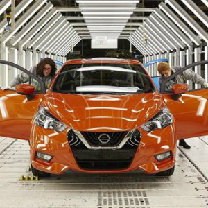 production on nissan micra