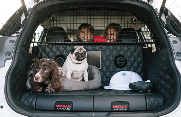 Nissan X Trail For Dogs >> Nissan X-Trail 4Dogs: The 'Pawfect' Car - FleetPoint