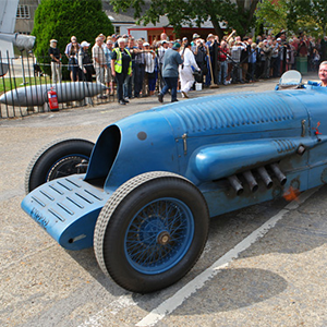 The Napier Bluebird