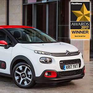 New Citroën C3 has won over the judges at the Fleet News Awards