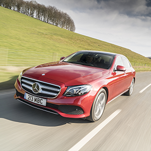 Double win for Mercedes-Benz E-Class at 2017 Fleet News awards