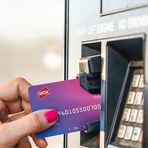 Esso Card in pump