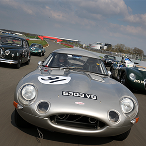 Jaguar fever at the Silverstone Classic Media Day