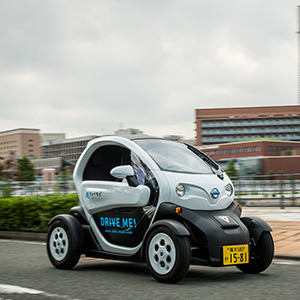 Nissan New Mobility Concept, an ultra-compact electric vehicle