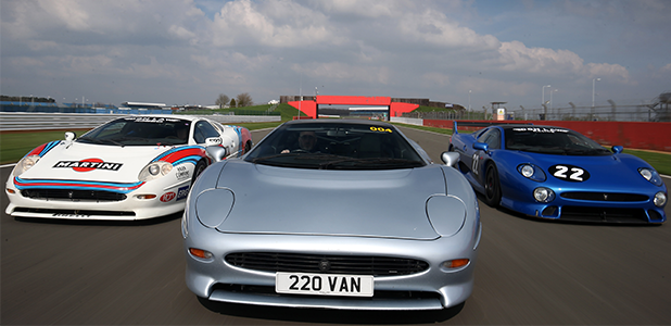 The Jaguar XJ220 will be the star of a record-breaking parade at this