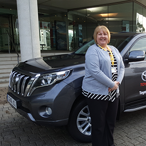 Toyota donates new 4x4 to Ben's Birch Hill Care Centre