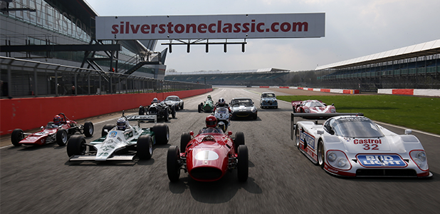 Variety is always the spice of life at the Silverstone Classic
