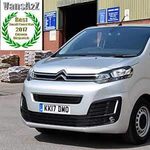 New Citroën Dispatch Named Small Panel Van Of The Year