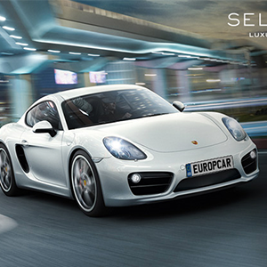 Porsche Cayman from Europcar Selection