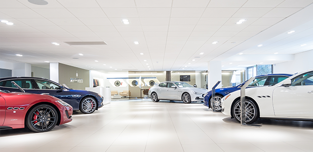 HR Owen - Maserati dealership