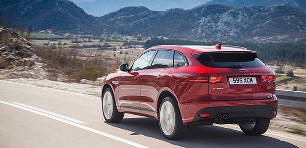 Jaguar F-Pace: Italian Racing Red