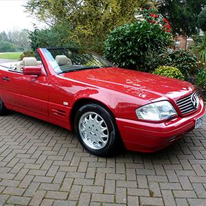1996 Mercedes Benz SL500 COYS Spring Classics