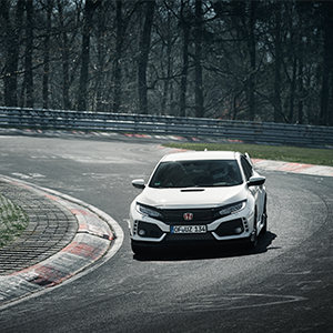 2017 Honda Civic Type R sets new front-wheel drive lap record