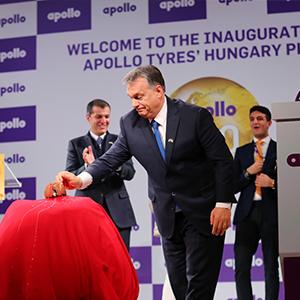 Apollo Tyres' new Hungarian factory