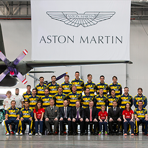Aston Martin lends support to Glamorgan County Cricket Club
