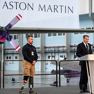 Aston Martin Lagonda Ltd are proud to announce an enduring partnership with the Royal Air Force Benevolent Fund, the RAF's leading welfare charity.