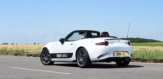 BBR launches stunning Mazda MX-5 : Miata ND Stage 1 turbo upgrade