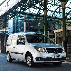 Citan Honoured In Trade Van Driver Awards