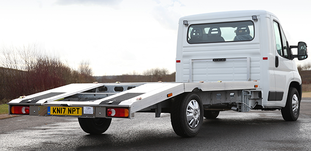 Citroën launches latest relay 'ready to run' car transporter