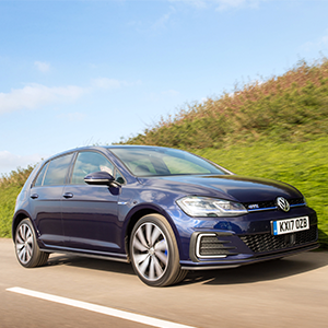 Golf GTE Advance five-door hatch – Atlantic Blue (plug-in hybrid)