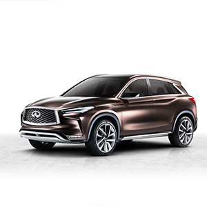 INFINITI QX50 Concept Makes Asia Debut at Auto Shanghai