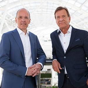 Jan Carlson and Håkan Samuelsson