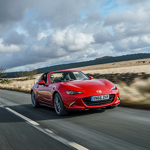 All-new Mazda MX-5 RF wins top prize at 2017 Red Dot Awards