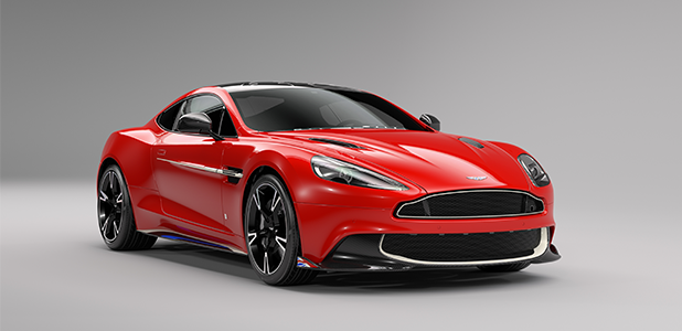 Q by Aston Martin- Vanquish S Red Arrows Edition