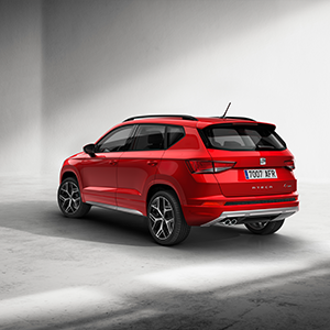 SEAT launches sporty FR on high-selling Ateca