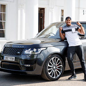 SVO creates bespoke Range Rover for Anthony Joshua MBE