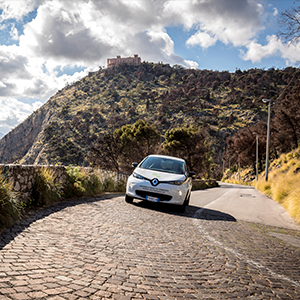 The Eco Tour di Sicilia and Renault ZOE