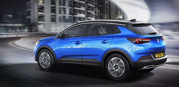 Vauxhall all-new Grandland X SUV